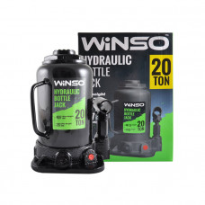 Домкрат гидравлический бутылочный Winso 20т.