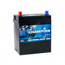 Champion Black 40Ah EN330A L+ Asia
