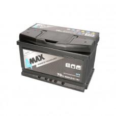 4Max EFB 70Ah 650A[EN] R+(низк.)