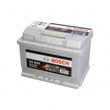 Bosch S5004 61Ah EN600A R+(низк.)