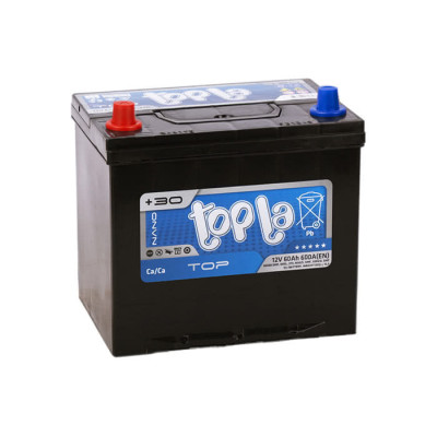 Аккумулятор Topla Top 60Ah EN 600A L+ Asia(ниж.креп.)