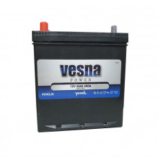 Vesna Power 45Ah EN 400A L+ Asia(ниж.креп.)