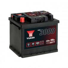 Yuasa YBX 3077 45Ah EN 380A L+