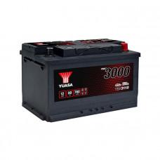 Yuasa YBX 3110 80Ah EN 760A R+(низк.)