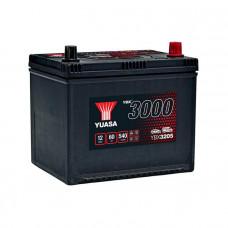 Yuasa YBX 3205 60Ah EN 540A R+ Asia(ниж.креп.)
