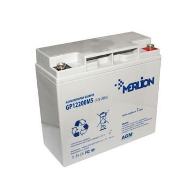 Аккумулятор Merlion Agm GP1220M5 12V 20Ah Q4